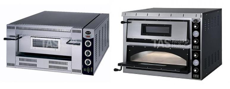 Электрические и газовые печи для пиццы